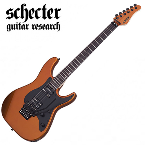 쉑터 선밸리 SSFR 램보오랜지색 Schecter Sun Valley Super Shredder Lambo Orange