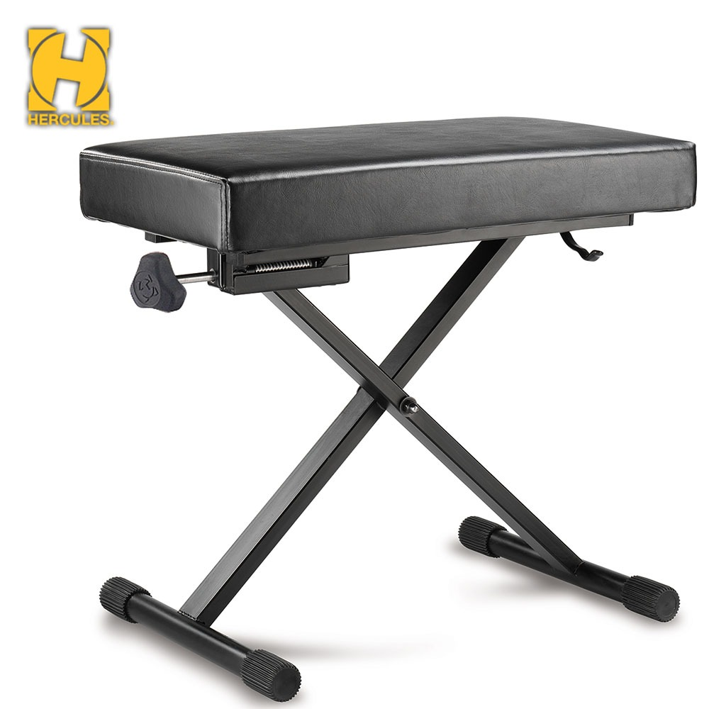 헤라클레스 KB200B 건반의자 Hercules KB-200B EZ HEIGHT ADJUSTABLE KEYBOARD BENCH