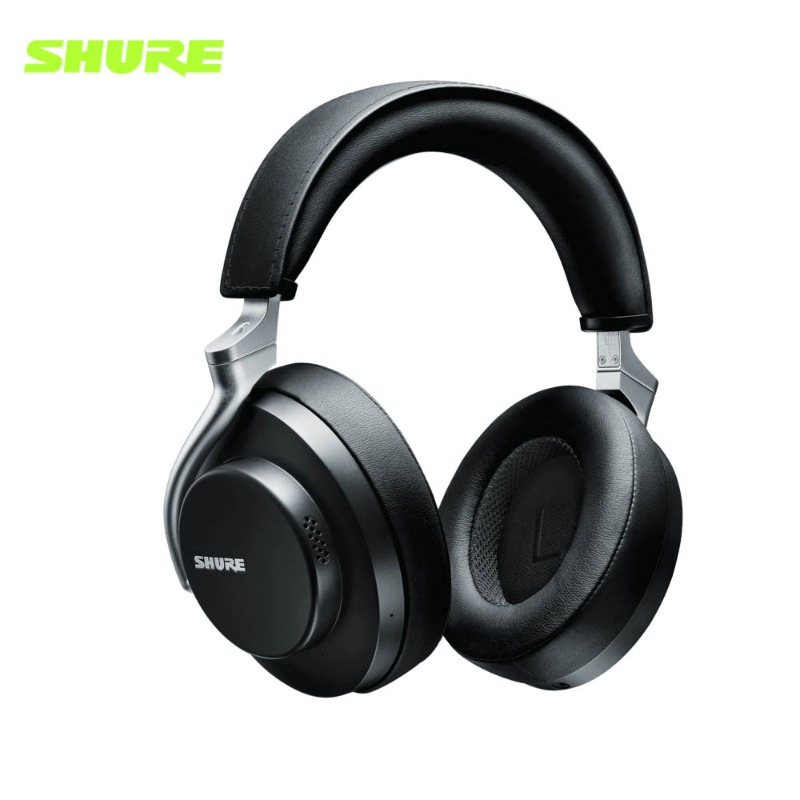 슈어 AONIC50 블루투스 헤드폰 검정색 Shure AONIC-50 Wireless Noise Cancelling Headphones Black 정품