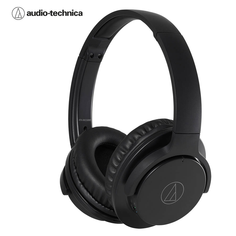 오디오테크니카 ANC500BT 블루투스 헤드폰 검정색 Audio-technica ATH-ANC500BT Wireless Noise-Cancelling Headphones Black