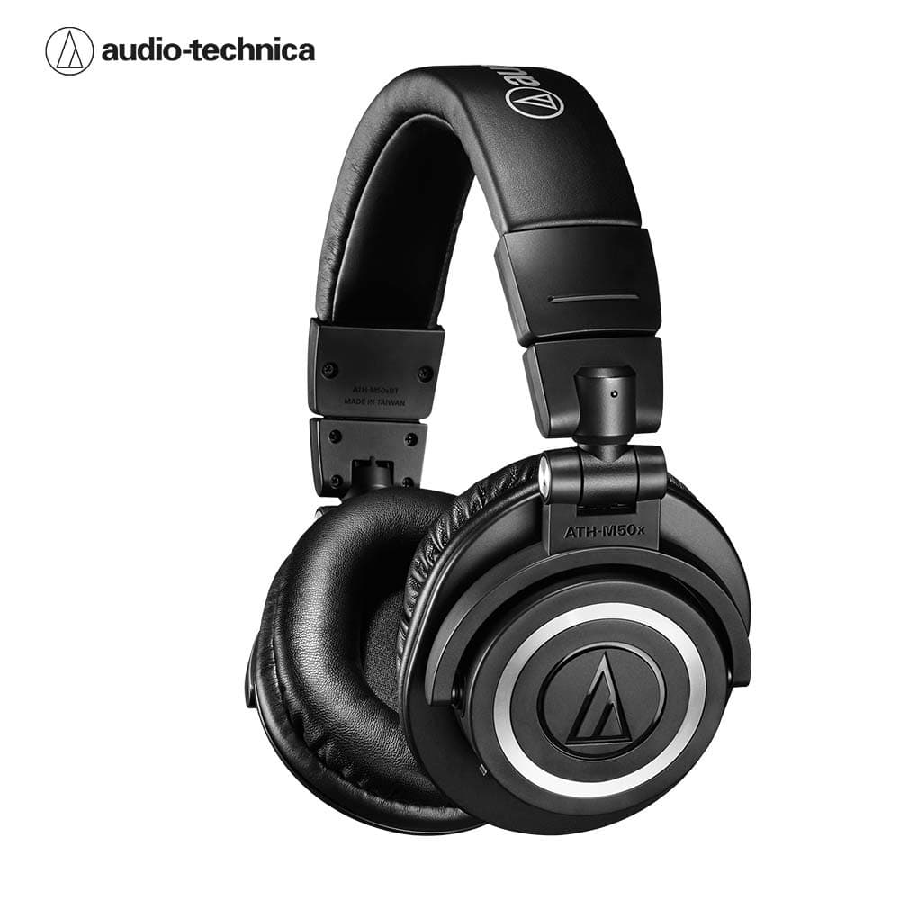 오디오테크니카 M50XBT 블루투스 헤드폰 Audio-technica ATH-M50xBT Wireless Over-Ear Headphones