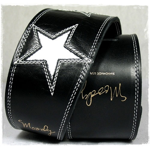 3 White Stars Black/Black [Mike Dirnt's]