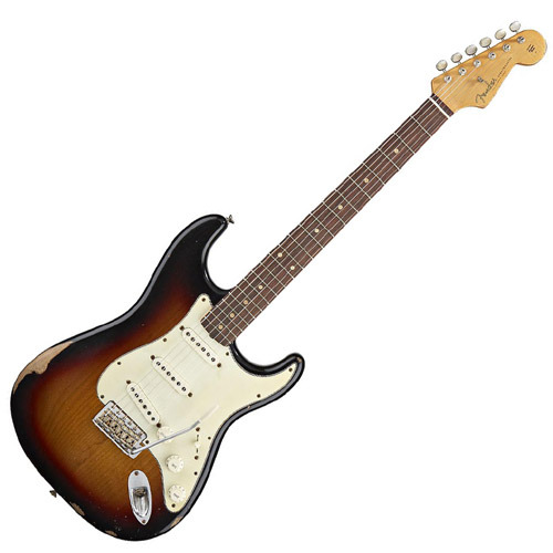 펜더Mexico Road Worn60' Strat 3TS
