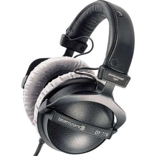 바이어다이내믹 DT770PRO 80옴 헤드폰 Beyerdynamic DT-770PRO-80 80ohm Closed Studio Headphones
