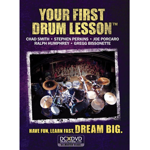 YOUR FIRTST DRUM LESSON