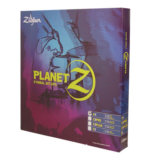 질젼 플레넷Z 4심벌팩 Zildjian Planet Z 4 Pack 14HH,16CR,20RD PLZ4PK